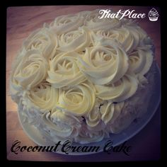 Coconut Cream Cake - delicious!