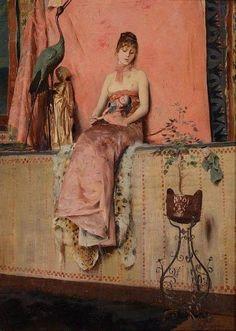 colin-vian:    Georges-Antoine Rochegrosse 1859 -1938 französischer Maler. #