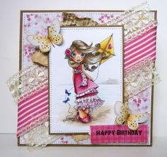 Jane's Lovely Cards : Saturated Canary