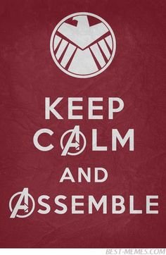 Keep Calm and... Assemble