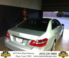 https://flic.kr/p/AYuv93 | Happy Anniversary to Joe on your #Mercedes-Benz #E-Class from Chad Kimmel at Auto Web Expo Inc! | deliverymaxx.com/DealerReviews.aspx?DealerCode=J789