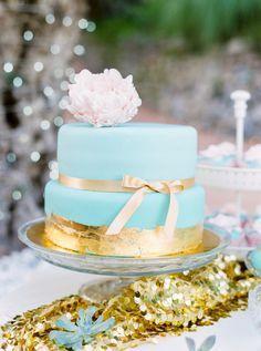 Tiffany blue and gol www.mccormick-weddings.com