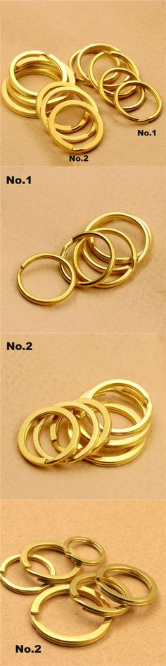 300 pcs Gold Plated Stainless Steel Split Rings Jump Rings Connector Rings for Jewelry Making Necklaces Bracelet Earrings Keychain DIY Craft Gold, 4mm