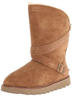 Bearpaw Women's Prim High-Top Suede Boot -- Trust me, this is great! Click the image. Cool Boots, Bearpaw Boots, Suede Boots, Snow Boot, Fashion Boots, Black Boots, High Tops, Womens Fashion, Clothes