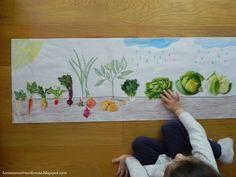 Unde cresc legumele - Vegetables Above & Below Ground