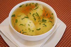 dumpling soup (supa de galuste)