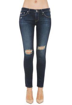 AG Jeans Official Store, The Legging Ankle - 4 Years Fog, Women's the Legging Ankle, REV1389