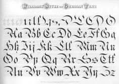 """<font face=""""Times New Roman"""" of Penmanship</font><font face=""""Times New Roman""""><br> </font><font face=""""Times New Roman"""" Williams & Packard</font> Calligraphy Lessons, Calligraphy Fonts Alphabet, Calligraphy Tutorial, Tattoo Lettering Fonts, Hand Lettering Tutorial, Types Of Lettering, Lettering Styles, Penmanship, Typography Letters"""