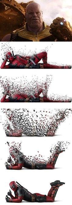 Deadpool advantages
