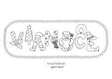 aktivita 00448 2 vianoce pismenka
