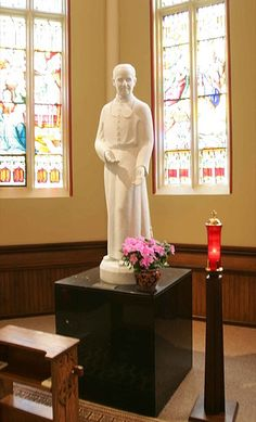 St. Andre Bessette Chapel, Basilica of the Sacred Heart, Notre Dame, Indiana