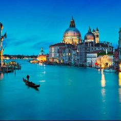 Venice is soft at night. Gondoliers have been ferrying passengers across Venice's waterways for centuries. It's the perfect way to experience the city's otherworldly magic.