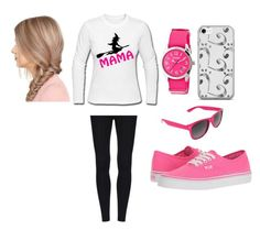 """""""rere"""" by rawan-mahmoud ❤ liked on Polyvore featuring Vans, Crayo and SWG"""