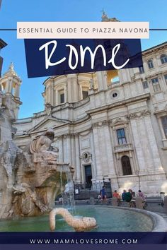Curiosities, facts and travel tips to learn all about Piazza Navona Rome Italy Travel Tips, Rome Travel, Rome Hotels, Best Hotels, Rome Attractions, Rome Itinerary, Rome City, Piazza Navona, Trevi Fountain