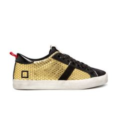 D.A.T.E. Fall Winter 2015-16 //Hill low pong gold. Shop at:http://bit.ly/1LO3D0v #datesneakers