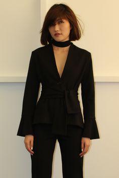 Andrea Yasmin- Peplum Jacket AW16 Sophia Dress, Peplum Jacket, Drip Dry, Flare Pants, Fishtail, Classy, Blazer, Skinny, How To Wear