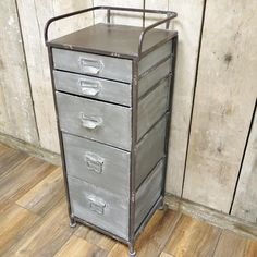 Industrial Metal Storage Cabinet - The Farthing