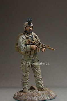 ANT Miniatures US Navy Seal, c. 2005. 1/35 Scale