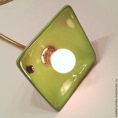 Купить Потолочный светильник с двумя плафонами на гибких трубках - керамический плафон, люстры потолочные
