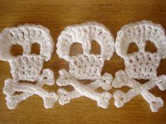 steel & stitch: Crochet pirate bunting