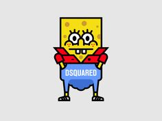 Spongebob Dsquaredpants by Igor Duibanov