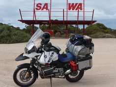 BMW R1150 GSA - Around Australia in 40 days- Day 3.   And no, SAWA is not a real word, not even in scrabble.