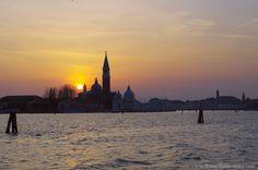 Tramonto isola di San Giorgio Venezia