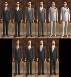 Mod The Sims - -Celebrating WHITE!- Default Replacements for Almost All Celebrations Outfits