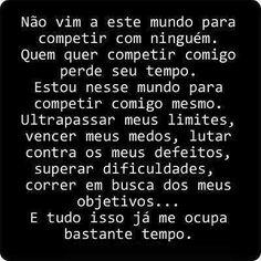 Post  Fala Sério!   : COMPETIR COMIGO !
