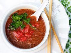 Watermelon Gazpacho Soup Recipes: Amazing & Refreshing - iVillage www.MadamPaloozaEmporium.com www.facebook.com/MadamPalooza