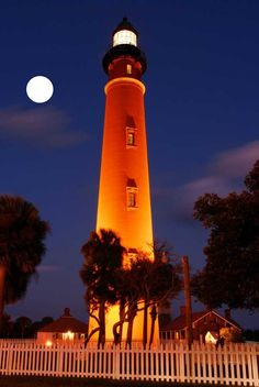 Ponce Inlet Lighthouse ~ Florida's tallest.