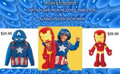 C20 Hooded Sweater, Christmas Shopping, Captain America, Avon, Iron Man, Plush, Family Guy, Kids, Fictional Characters