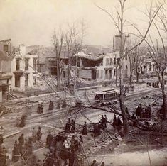 12th and Jefferson, 1889 tornado. University of Louisville Photographic Archives