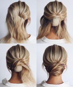 This elegant hairstyle is also suitable for wedding.Low bun wedding hair can match your wedding dress. Bridal hair updo, high updo, short hair updo or bridesmaid hair updo is perfert for wedding hairstyles updo. Save this Easy And Hair Tutorials Dutch bra Wedding Hairstyles Tutorial, Easy Hairstyles, Hairstyle Tutorials, Hairstyle Ideas, Low Bun Tutorials, Halloween Hairstyles, Hairstyle Wedding, Wedding Hair Tutorials, Short Hair Tutorials