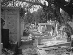 Pasillo de tumbas
