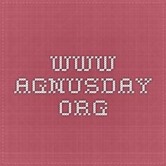 www.agnusday.org Lectionary-Based Comics featuring lambs