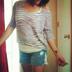 DIY Lace Shorts from Skinny Jeans Utah Mama