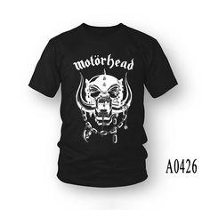 Top Quality Motorhead tops tees O-Neck The fashion Band t shirts Cotton men's short sleeve t shirt