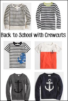 Nautical by Nature: Back to School Boys: Crewcuts