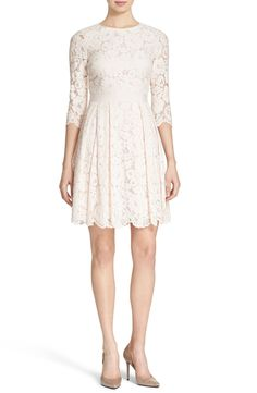 Ted Baker London 'Ameeya' Floral Lace Fit & Flare Dress