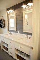 Modern farmhouse bathroom design and decor ideas (21)