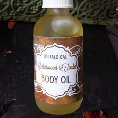 Organic Body Oil // CEDARWOOD TONKA // toxin free moisture Bath Body & Massage// Organic Vegan Cruelty Free Natural Skincare