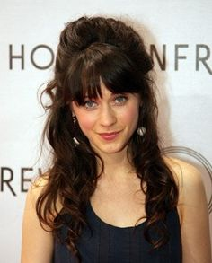 zoey deschanel-I want this color brown!