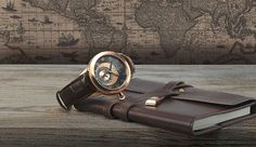 Charriol's respect for the century Italian explorer, Christopher Columbus was first captured in a watch collection in Philippe Charriol, inspired by the adventurer spirit of the famed… Philippe Charriol, Swiss Luxury Watches, Watches For Men, Men's Watches, Christopher Columbus, Brown And Grey, Rose Gold, Aprons, Cable