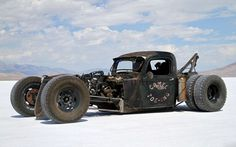 (Salt Lake Rat Rod Tow Truck)