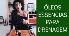 Confira a receita de um Óleo Corporal 100% natural e vegano para Drenagem Linfática e Retenção de Líquidos com Óleos Essenciais! - Aromaterapia Cosmética.