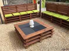 Salon de jardin en palettes | Gardens, Furniture and Chang\'e 3