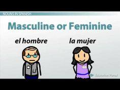 Definite Articles & Gender Rules in Spanish Grammar - YouTube