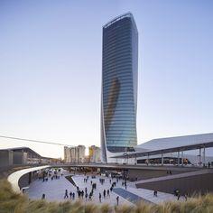 CityLife Shopping District, Milan, Italy © Zaha Hadid Architects