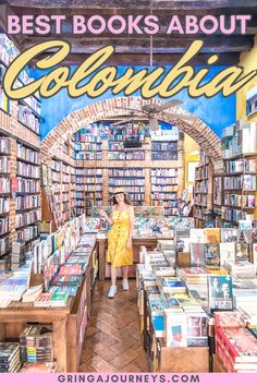 travel book In this post, well cover 25 books abou - Visit Colombia, Colombia Travel, South America Destinations, South America Travel, Travel Destinations, Travel Books, Solo Travel, Travel Guides, Travel Tips